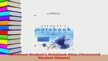 Download  Hammond Students Notebook Atlas Hammond Student Atlases Read Online