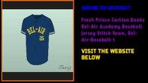 Fresh Prince Carlton Banks Bel-Air Academy Baseball Customize Jersey 1