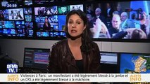 Apolline de Malherbe craque en direct sur BFMTV