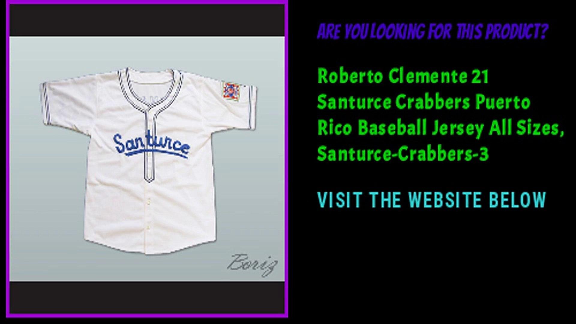 size 40 1c6e3 461d4 Roberto Clemente 21 Cangrejeros de Santurce Airbrush Portrait Baseball  Jersey 3