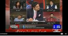 Mian Mehmood ur Rasheed, Zaeem Qadri pr bars pray