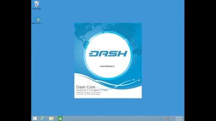达世币 - 钱包设置教程 - Windows 版 (Wallet Install)
