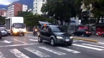 Caravana de trabajadores de Polar recorrió las calles de Caracas