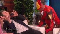 Chris Evans Scares Elizabeth Olsen