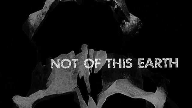 Not of This Earth (1957) - Paul Birch, Beverly Garland, Morgan Jones - Feature (Horror, Sci-Fi) Roger Corman film