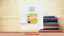 PDF  Database Systems Introduction to Databases and Data Warehouses Read Full Ebook