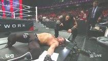 WWE Raw 5 2 16 Part 10 - WWE Raw 2 5 2016 Part 10[Team Roman Vs Team Aj HD,Roman Beats Aj Like Heel!!]