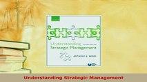PDF  Understanding Strategic Management PDF Full Ebook
