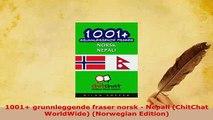 PDF  1001 grunnleggende fraser norsk  Nepali ChitChat WorldWide Norwegian Edition Download Full Ebook