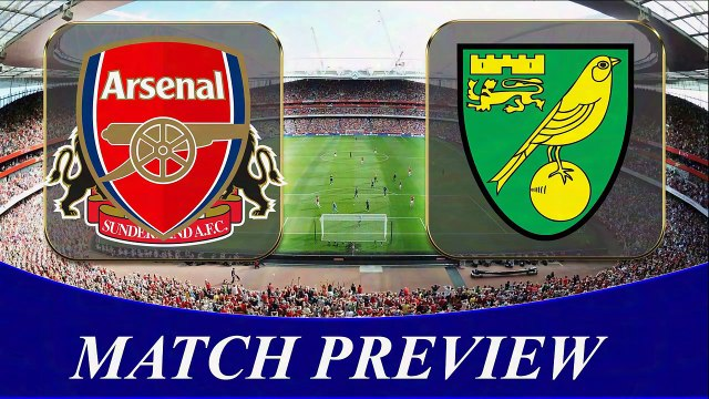 Arsenal vs Norwich Head to Head _ PREMIER LEAGUE 2016_Football Match Preview