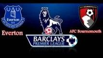 Everton VS AFC Bournemouth EPL on 30-04-2016