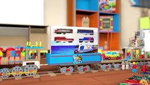 VIDEO FOR CHILDREN Passenger Train Russian Railways Toys Playing with Funny Creature from Play Doh