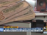 Scam threatens jail over fake court fees