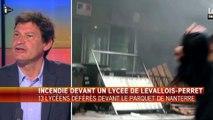 13 lycéens devant la justice après un incendie devant un lycée de Levallois-Perret - Le 03/05/2016 à 10h14