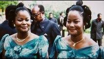 Femmes de Dictateur au Zaïre. Les jumelles Ladawa-MOBUTU.