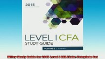 FAVORIT BOOK   Wiley Study Guide for 2015 Level I CFA Exam Complete Set  FREE BOOOK ONLINE