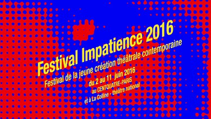 Lauréats du festival Impatience 2016