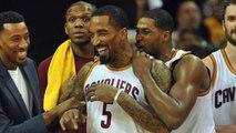 Cavaliers strike first against Hawks