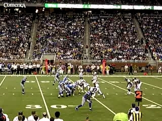 Broncos-Lions at Ford Field (August 2006)