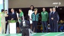 La flamme olympique des JO de Rio est arrivée au Brésil