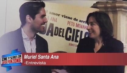 """A solas con Muriel Santa Ana charlando sobre """"Caída del Cielo"""""""
