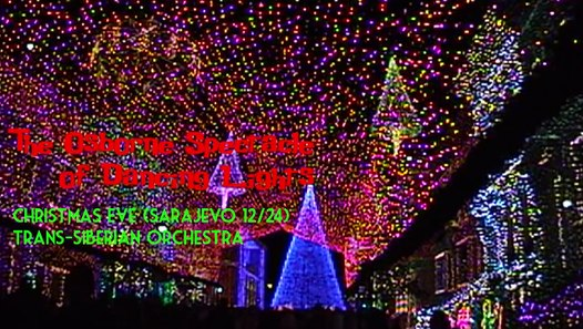 Christmas In Sarajevo.Osborne Lights Christmas Eve Sarajevo 12 24 At Disney S