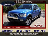 2010 Ford Explorer Sport Trac XLT Used Cars - Mooresville ,NC - 2015-10-14