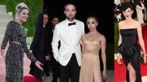 Awkward! Kristen Stewart, Robert Pattinson and Liberty Ross All Attend Met Gala
