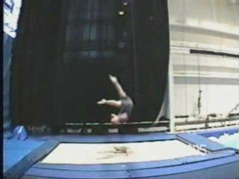 Trampoline demo spectacle