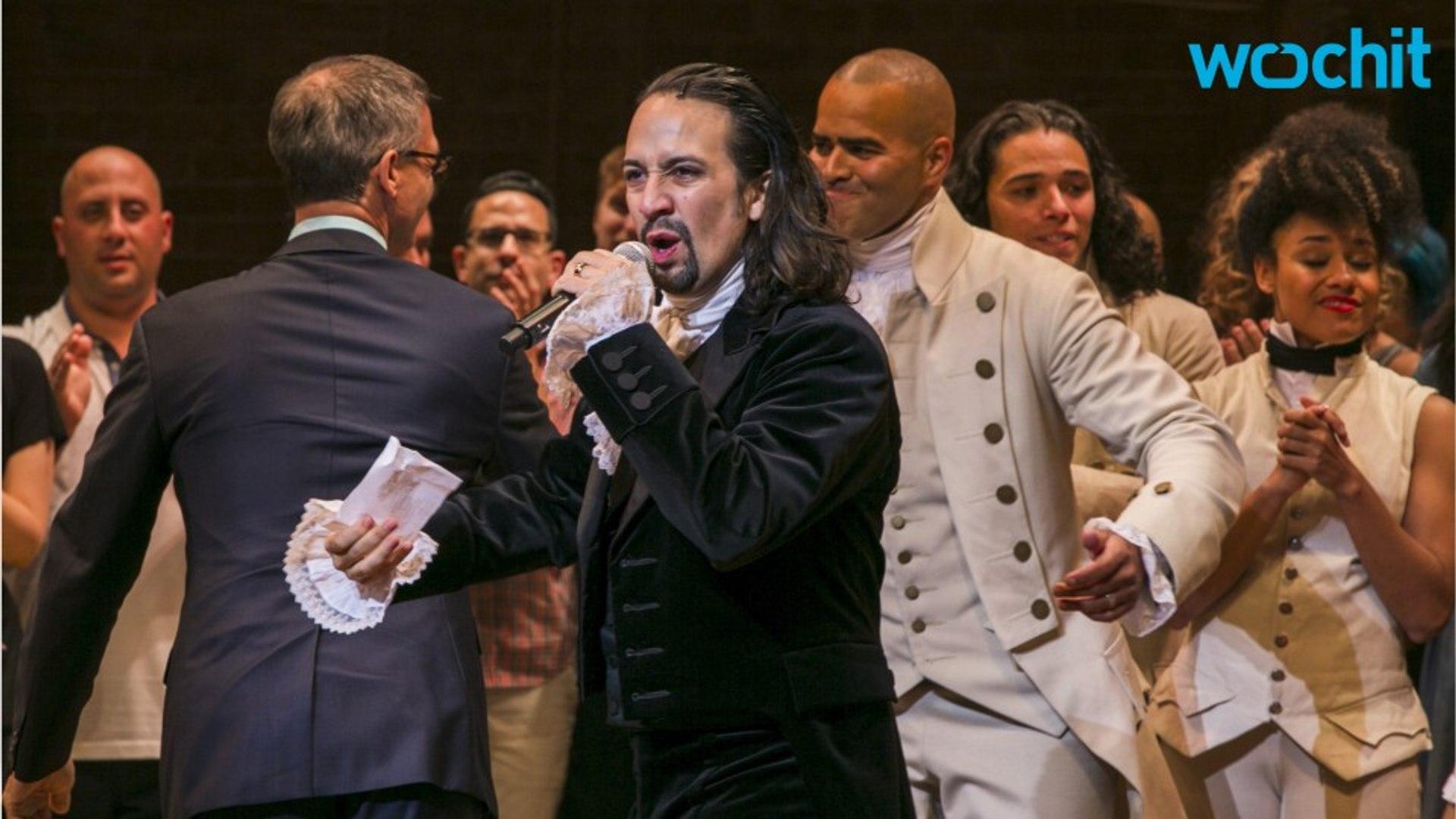 'Hamilton' Scores A Record Breaking 16 Tony Nominations