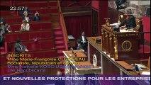 Intervention de NKM lors de la discussion générale sur le projet de loi travail