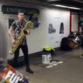 Saxophone street style be Awesome!