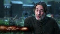 Game of Thrones Season 5_ Episode #1 - Kit Harington & Ciarán Hinds on Mance Rayder (HBO)