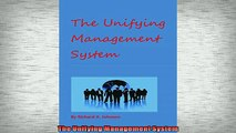READ book  The Unifying Management System  FREE BOOOK ONLINE