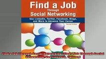 READ FREE Ebooks  Find a Job Through Social Networking Find a Job Through Social Networking Use Linkedin Free Online