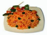 How to prepare Tomato Rice,,food,vegetarian curries, non vegetarian curries. cooked