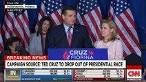 Ted Cruz : «Nous avons tout donné, mais les électeurs ont choisi une autre voie»