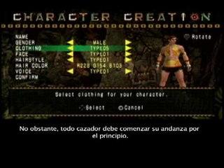 Monster Hunter Freedom Unite - Tutorial 1 - Subtitulado al castellano