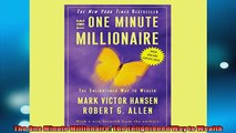 FREE PDF  The One Minute Millionaire The Enlightened Way to Wealth READ ONLINE