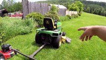 Mow your lawn in 1/2 the time with 94 inches of cut