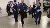 Quand des flics font le « Running Man Challenge »