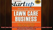 FREE DOWNLOAD  Start Your Own Lawn Care Business Start Your Own Lawn Care or Landscaping Business  FREE BOOOK ONLINE