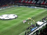 Inno Champion's League Milan-Arsenal 15/02/2012 San Siro