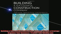 PDF Building a Successful Construction Company The Practical