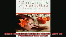 READ book  12 Months of Marketing for Salon and Spa Ideas Events and Promotions for Salon and Spa READ ONLINE