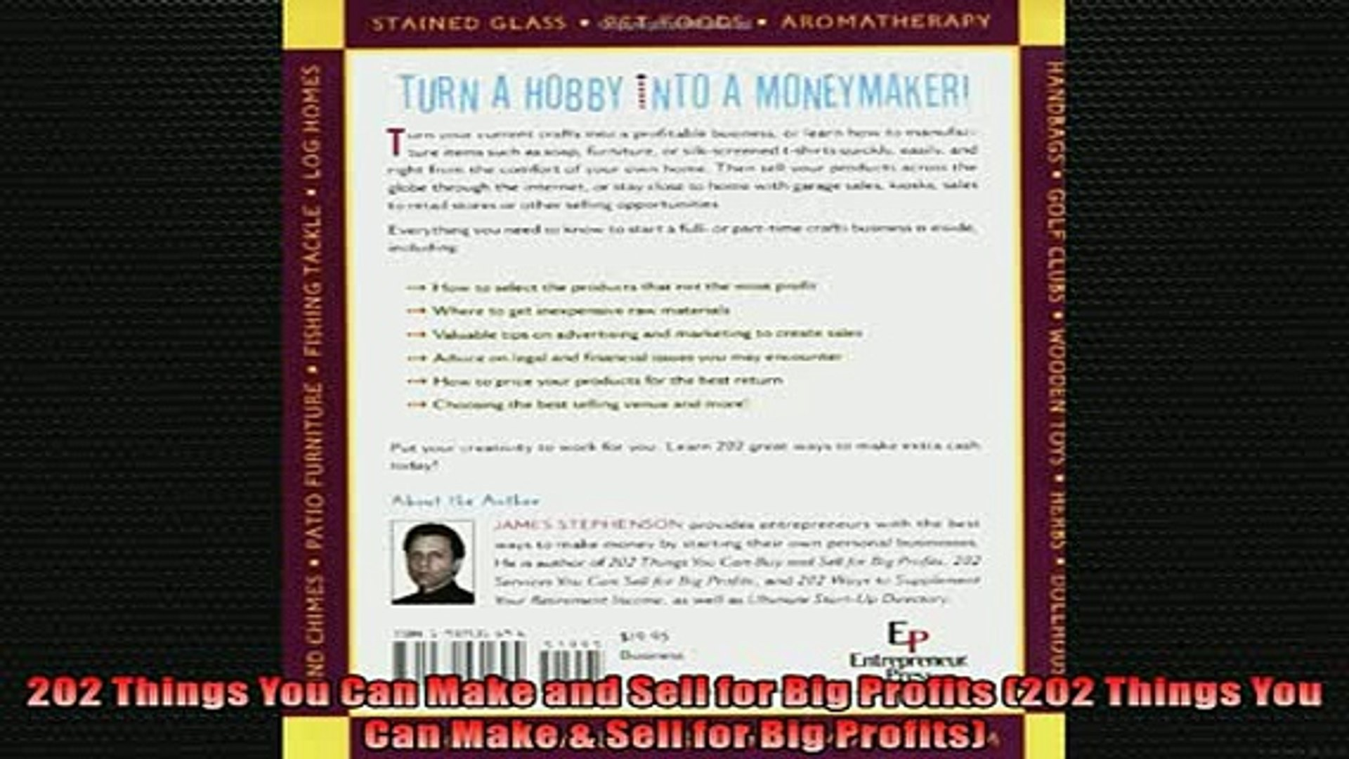 Free PDF Downlaod  202 Things You Can Make and Sell for Big Profits 202 Things You Can Make  Sell fo