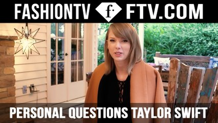 Taylor Swift Takes 73 Questions Challenge | FTV.com