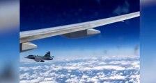 Frayeur : un vol British Airways soudainement escorté par un avion de chasse !