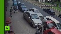 Tirs d'arme à feu, passage à tabac… Des journalistes ukrainiens brutalement pris pour cible à Odessa