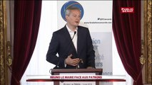 """Bruno Le Maire propose de réduire de """"100 milliards"""" les dépenses publiques"""" s'il est élu"""
